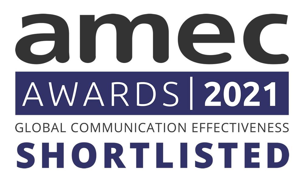 AMEC Awards 2021 Shortlisted