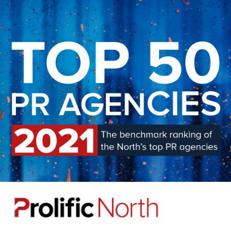 Top 50 PR Agencies - Prolific North
